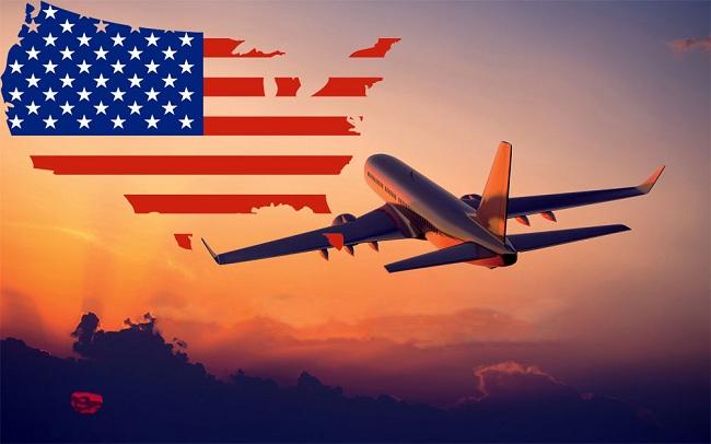 Bảng giá vé máy bay đi Mỹ 2019