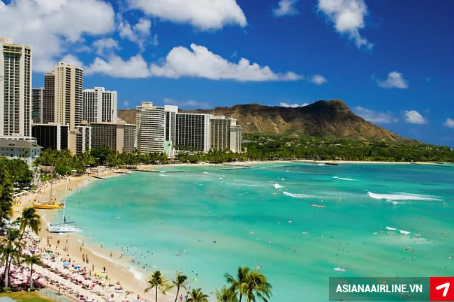 ve may bay di honolulu hang asiana airlines