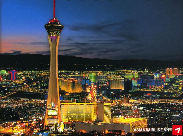 Vé máy bay đi Las Vegas, Mỹ hãng Asiana Airlines
