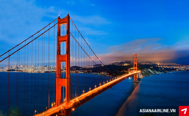 ve may bay di san francisco