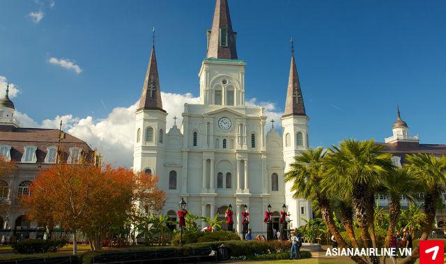 Vé máy bay giá rẻ đi New Orleans, Mỹ giá rẻ nhất