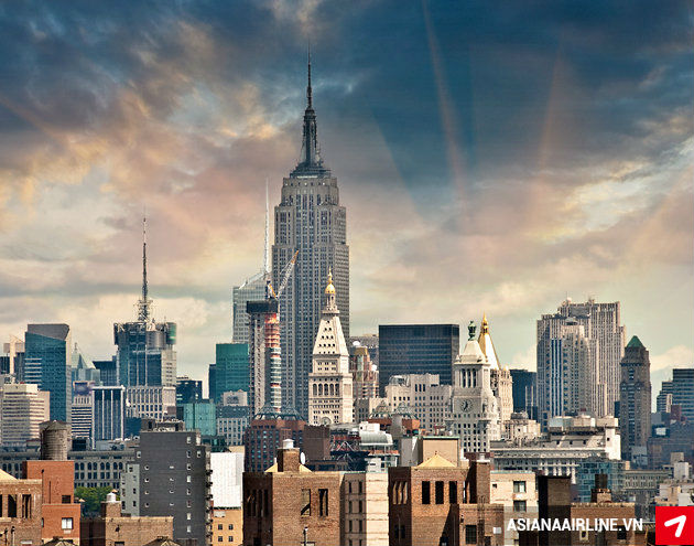 Mua vé máy bay đi New York hãng Asiana Airlines