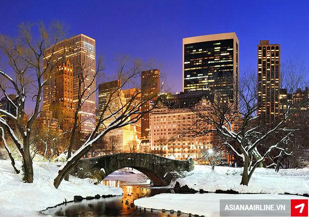 Đặt vé máy bay Asiana Airlines đi New York