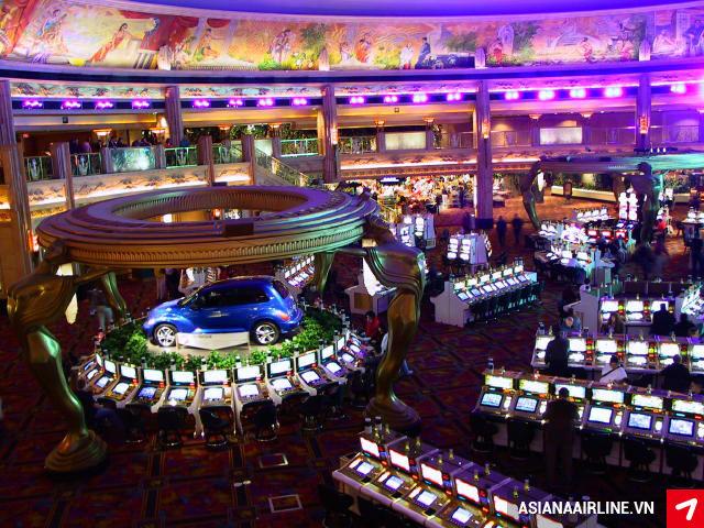 Thử vận may tại các Casino lớn nhất ở Las Vegas