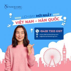 Vé máy bay từ Việt Nam đi Seoul giá rẻ | Thông tin chuyến bay tháng 4