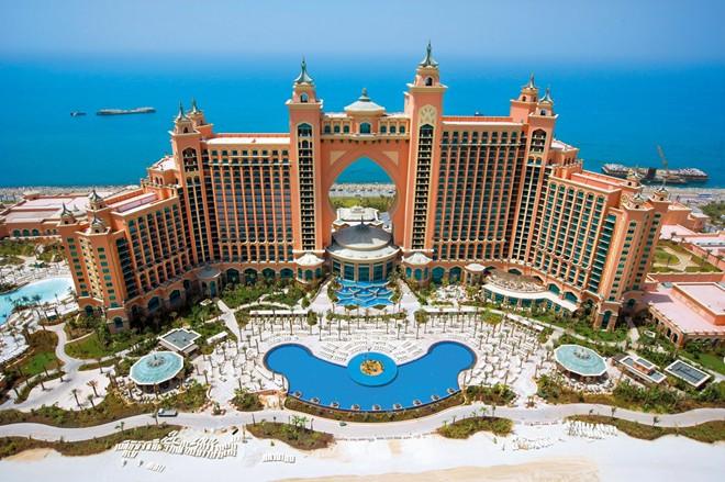 Khám phá những khu nghỉ dưỡng xa hoa tại Dubai
