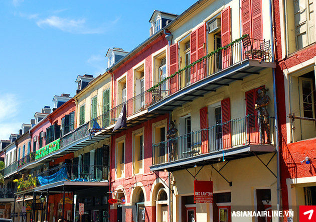 Nhung diem dung tham quan hap dan o New Orleans