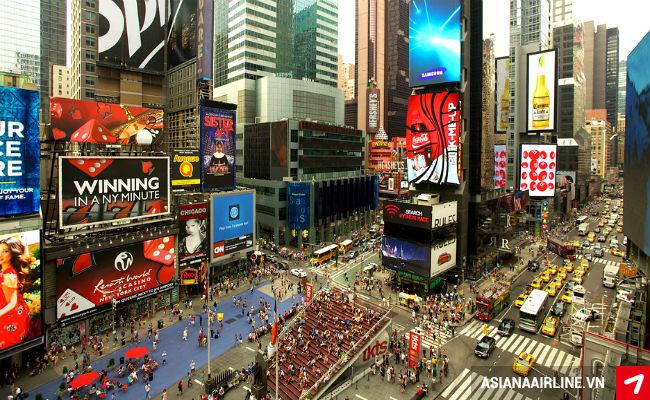 Kết quả hình ảnh cho quảng trường thời đại new york
