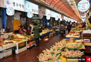 Khám phá các khu chợ truyền thống tại Hàn Quốc