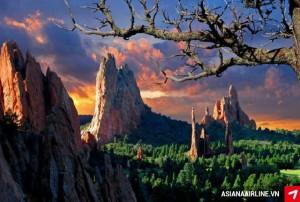 Ngất ngây trước vẻ đẹp thiên nhiên của các tiểu bang ở Mỹ