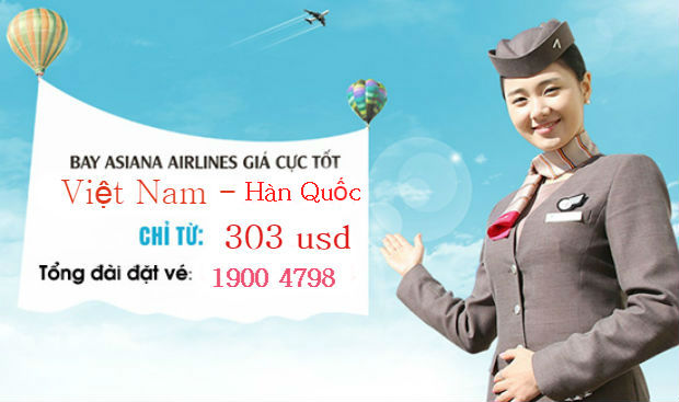 Giá vé máy bay đi Hàn Quốccập nhật mới nhất