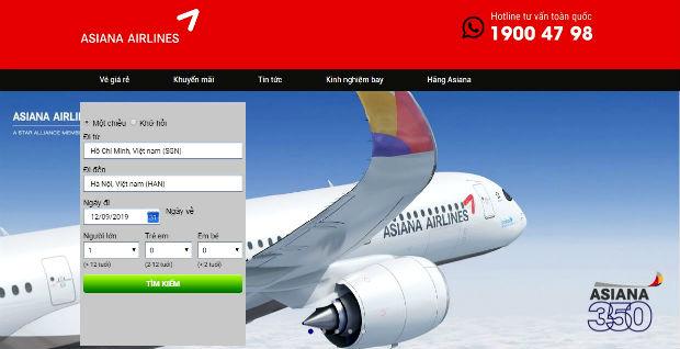 Cách tra giá vé máy bay đi Hàn Quốc