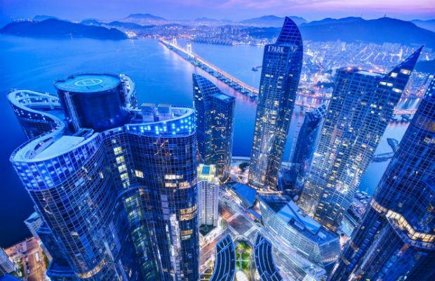 Khung cảnh về đêm tại Hàn Quốc