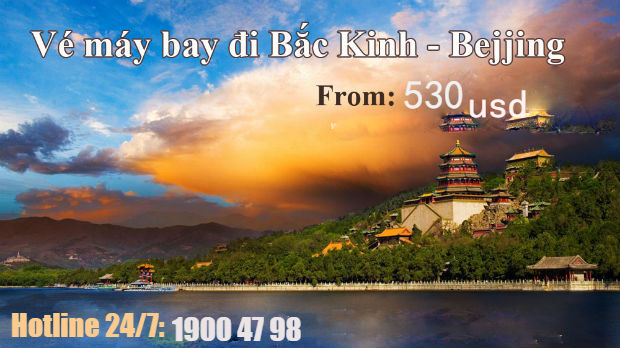 Đặtvé máy bay đi Bắc Kinh giá rẻ Aisana Airlines