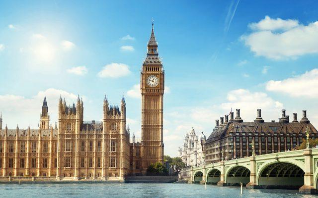 Đồng hồ Big Ben biểu tượng của nước Anh