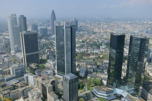 The Main Tower - Đặt mua vé máy bay đi Frankfurt giá rẻ Asiana airlines