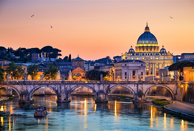 Vé máy bay đi rome giá rẻ nhất hãng Asiana airlines