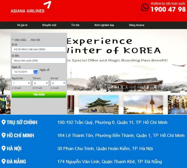 Vé máy bay đi Hàn Quốc giá rẻ