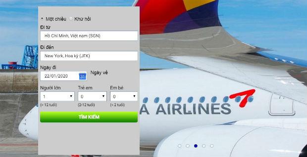 Giá vé máy bay hạng thương gia đi Mỹ
