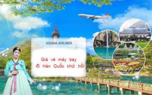 Giá vé máy bay đi Hàn Quốc khứ hồi