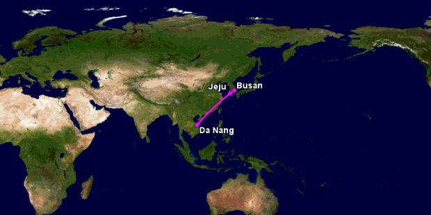 Vé máy bay Đà Nẵng đi Jeju
