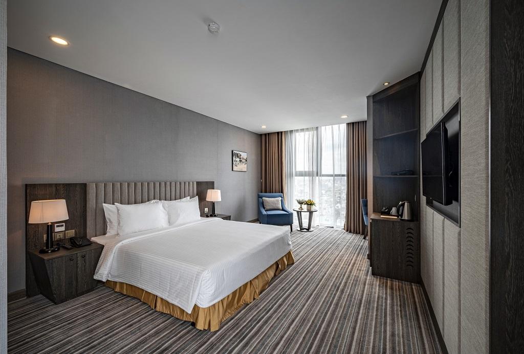 Phòng deluxe Khách sạn Mường Thanh Luxury Sài Gòn