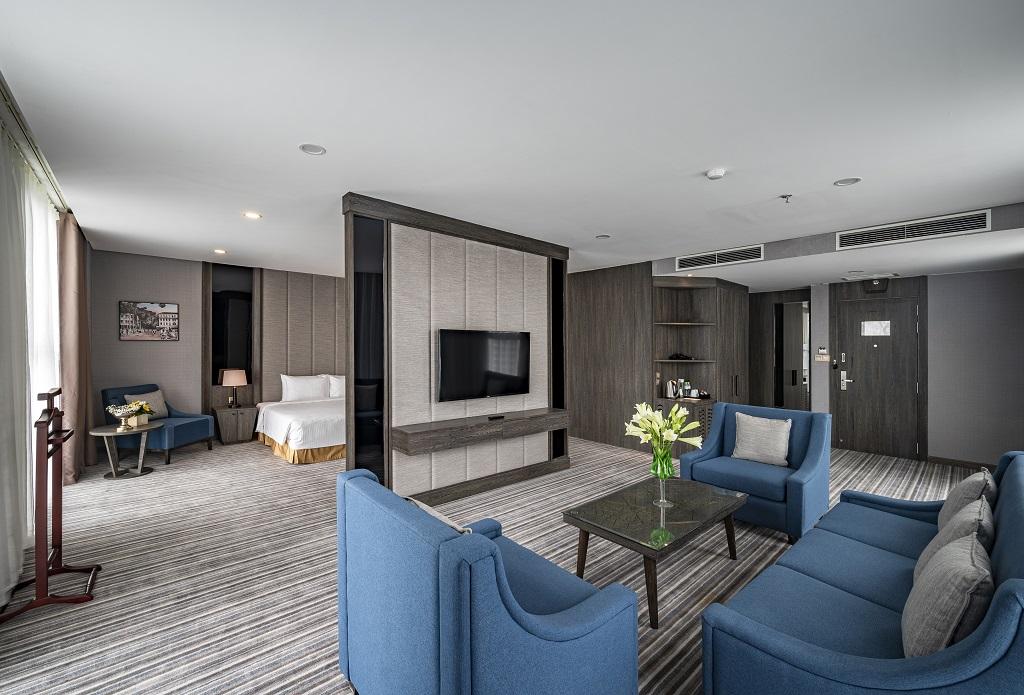 Phòng executive suite Khách sạn Mường Thanh Luxury Sài Gòn