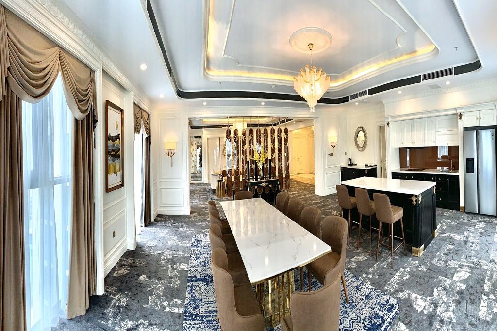 Phòng president Khách sạn Mường Thanh Luxury Sài Gòn
