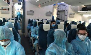 Cập nhật các chuyến bay từ Anh về Việt Nam   Tháng 03/2021