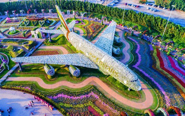 Vé máy bay đi Dubai - Dubai Miracle Garden