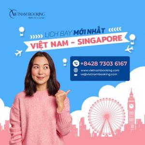 Vé máy bay đi Singapore giá rẻ 2021 | Lịch bay hàng tháng