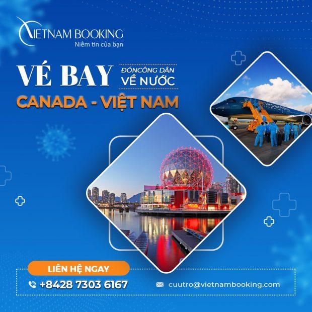 Vé máy bay từ Vancouver về Sài Gòn đưa người Việt hồi hương an toàn