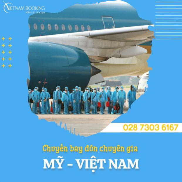 Chuyến bay chuyên gia từ Los Angeles về Đà Nẵng
