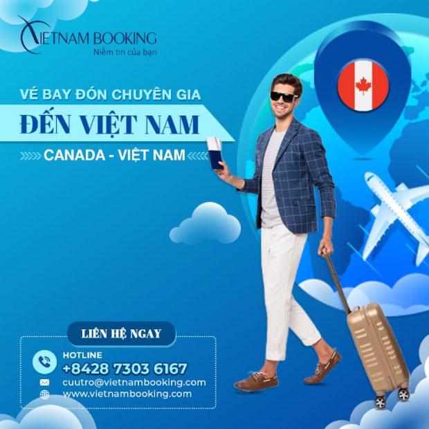 Chuyến bay chuyên gia từ Vancouver về Hà Nội