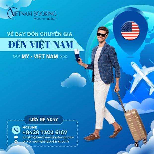 Vé máy bay từ New York về Sài Gòn đưa người Việt hồi hương an toàn
