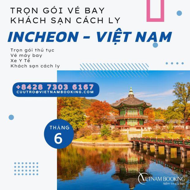 Trọn gói khách sạn cách ly cho hành khách nhập cảnh Việt Nam