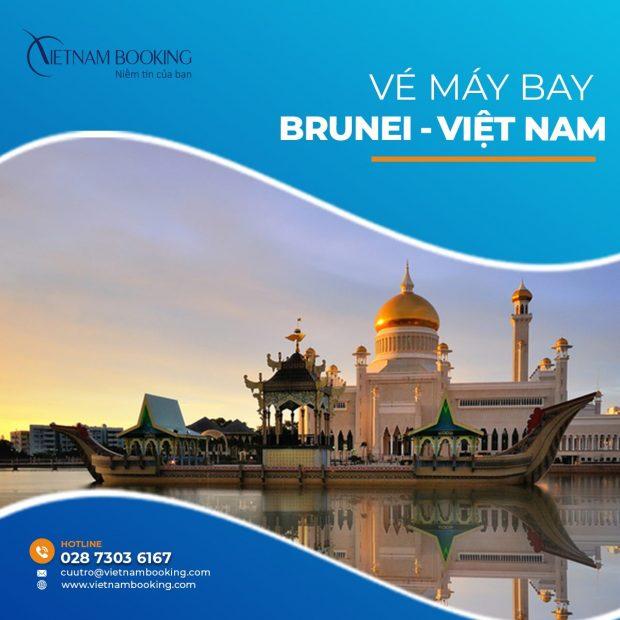 Vé máy bay từ Brunei về Việt Nam   Cập nhật chuyến bay hàng tháng