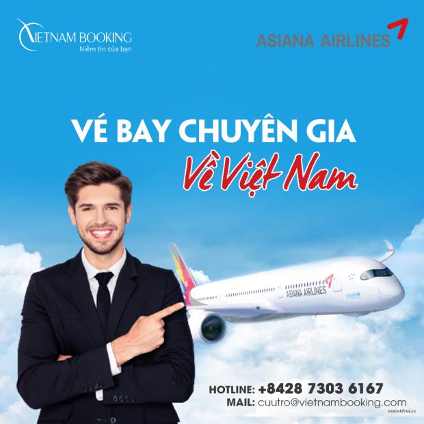 Chuyến bay đón chuyên gia nước ngoài về Việt Nam