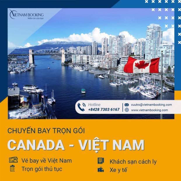 Đặt vé máy bay từ Toronto về Sài Gòn mới nhất tháng 6