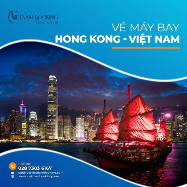 Vé máy bay từ Hong Kong về Việt Nam   Lịch bay mới nhất