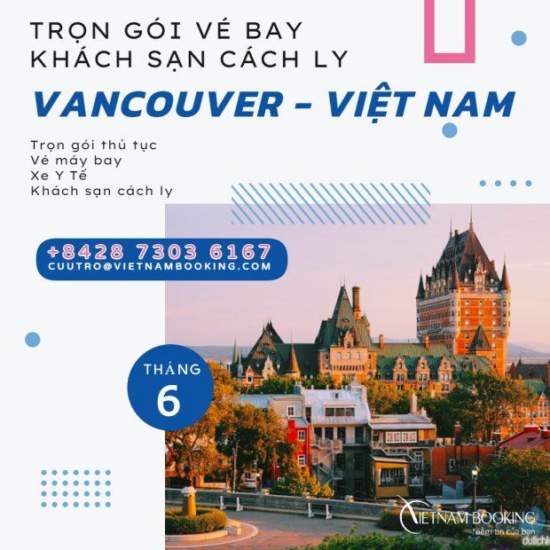 Trọn gói cách ly tại khách sạn cho hành khách nhập cảnh Việt Nam