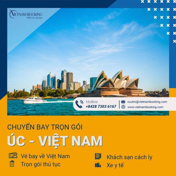 Vé máy bay từ Sydney về Đà Nẵng mới nhất