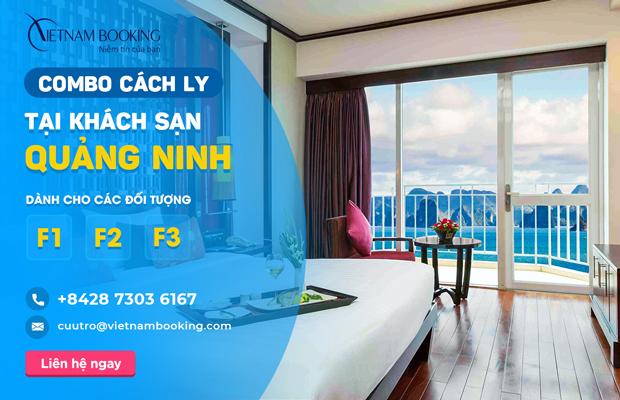 [Đặt] Combo khách sạn cách ly dành cho F1 F2 F3 tại Vân Đồn - Quảng Ninh