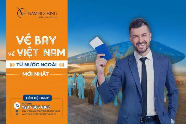 [Hot lịch bay tháng 7] Vé máy bay quốc tế về Việt Nam