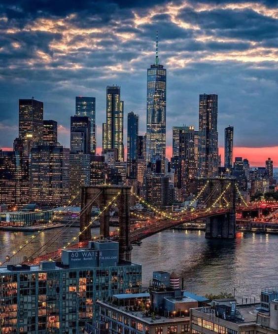 Nước Mỹ hiện đại, nền kinh tế phát triển là điểm đến du lịch được nhiều người mơ ước