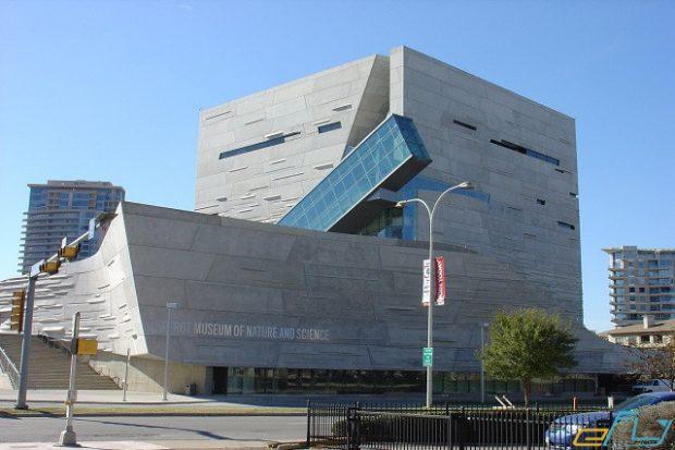 Bảo tàng khoa học tự nhiên Perot sở hữu kiến trúc độc đáo thu hút nhiều du khách ghé thăm ở Dallas