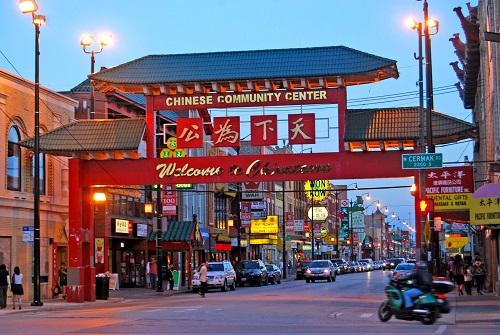 China Town tạo nên sự đa dạng về sắc tộc và văn hóa ở San Francisco