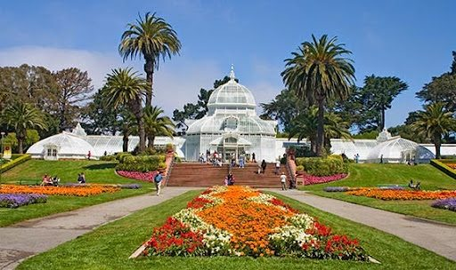 Golden Gate Park là công viên đẹp rực rỡ giữa lòng thành phố San Francisco