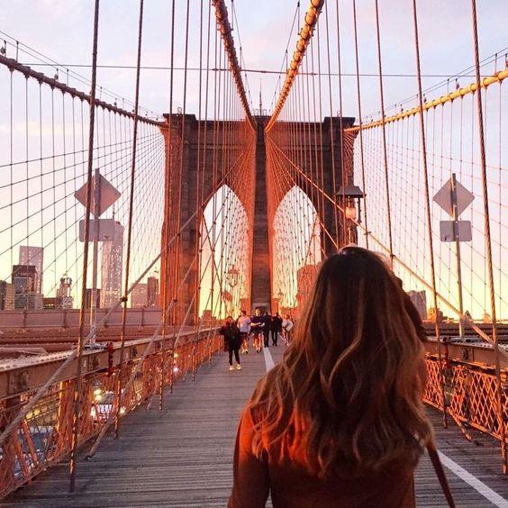 Check in cầu Brooklyn đẹp nhất New York