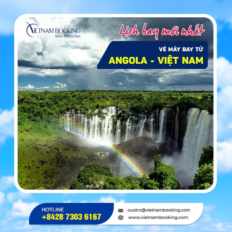 Chuyến bay từ Angola về Việt Nam